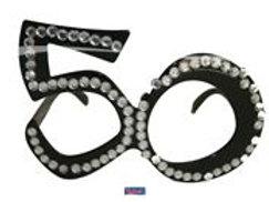 Glasses 50 Black Diamondframe F 00753