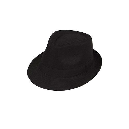 Black Fedora AC-9153 W
