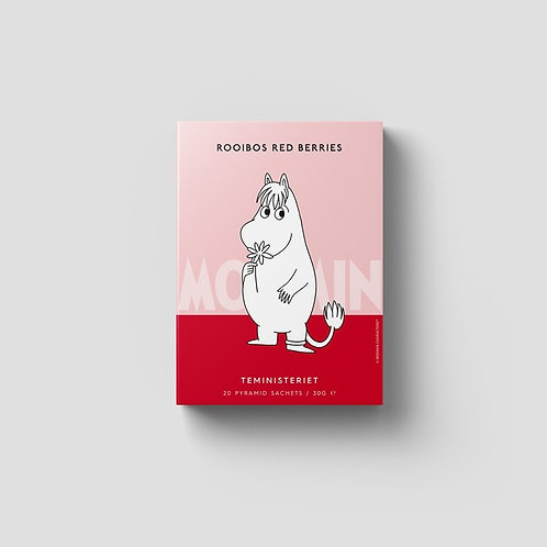 Moomin Rooibos Red Berries Pyramid