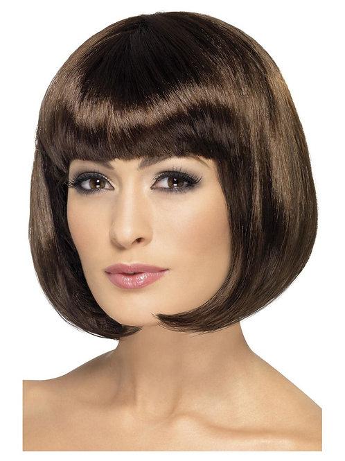 Partyrama Wig, 12 inch, Brown. 42394 S