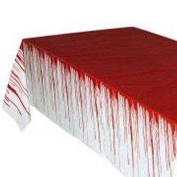 """BLOODY TABLECLOTH"""" 137x275 cm 08165 W"""