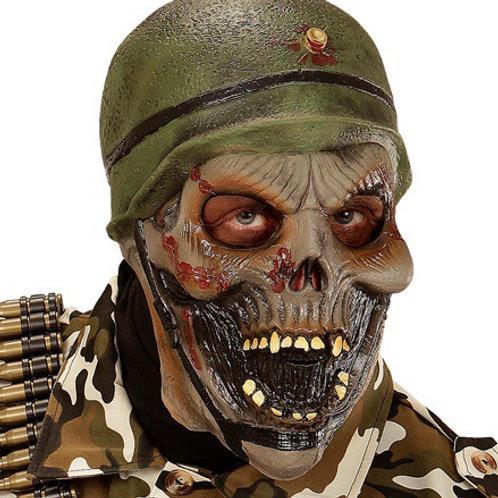 ZOMBIE SOLDIER 3/4 MASK. 00397 Widmann