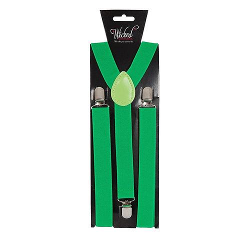 Braces - BOTTLE GREEN AC-9358 W