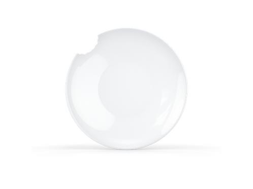 Tassen suppetall. m/bitemerke2 stk Hvit, 24 cm Ø
