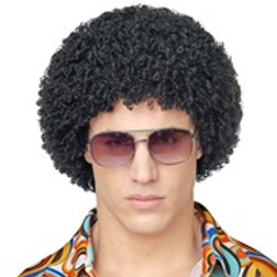 """""""BLACK 70s DISCO WIG"""" in polybag 02078 W"""