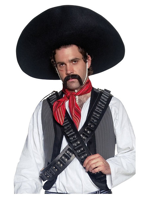 Authentic Mexican Bandit Sombrero. 32966 S
