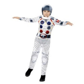 Spaceman Costume 43180 S
