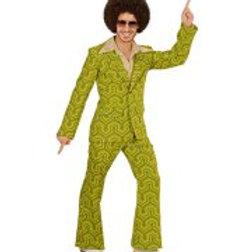 """""""70s MAN SUIT"""" wallpaper (jacket, pants) W 08983"""