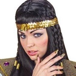 Egyptian Snake Headband. 3298T W
