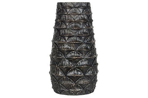Vase Palme Brunguld 19.5x35cm 101607