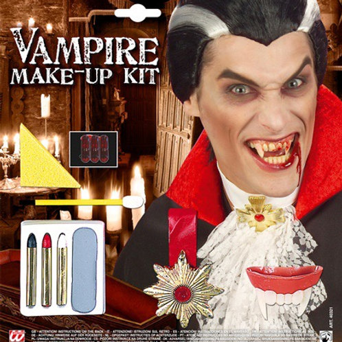 VAMPIRE MAKE-UP SET WITH ACCESSORIES. 40321 Widmann