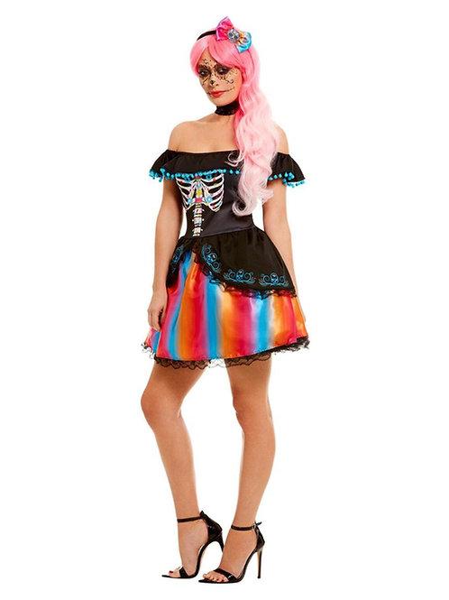 DOTD Lady Ombre Costume. 51046 Smiffys
