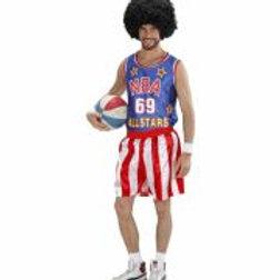 """BASKETBALL PLAYER"" (tank top, shorts) W 7583B"