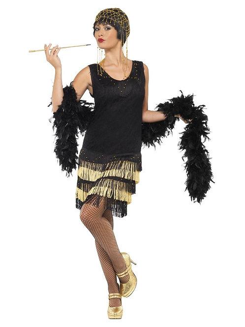1920s Fringed Flapper Costume. 33676 S