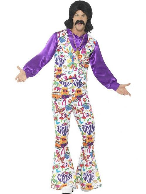 60s Groovy Hippie Costume SKU 44904