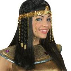"""BEADED EGYPTIAN HEADDRESS"" sequin W 3289Y"