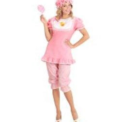 "BABY GIRL"" (dress with bib, pantaloons, b 98744 W"