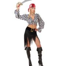 "PIRATE"" (shirt, skirt w/belt, buckle, ban... 77003 W"