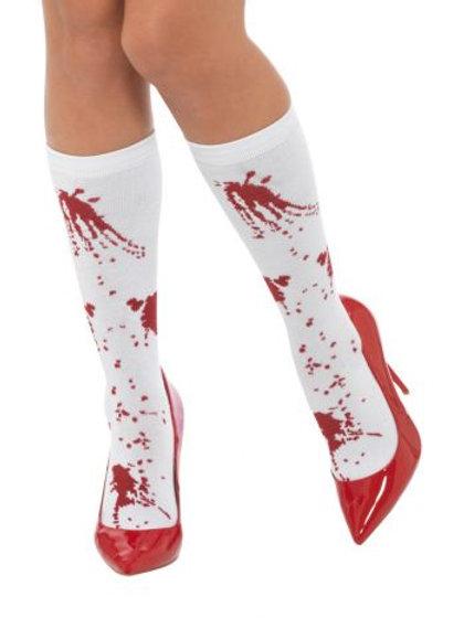 Blood Splatter Socks S 44773