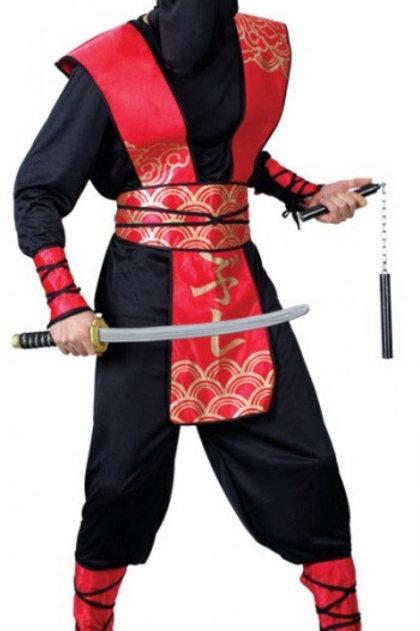 Adult Male Ninja Master Costume. EM-3086 Wick