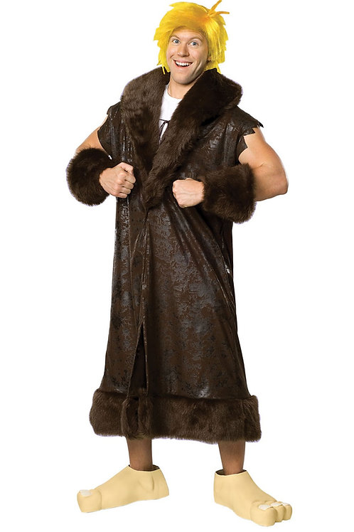 BARNEY RUBBLE DELUXE COSTUME – MENS. 16879 RUBIES