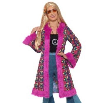 60s Psychedelic Hippie Coat 47389 S