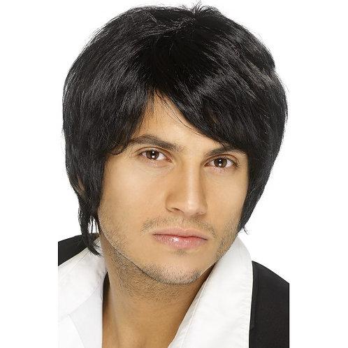 Boy Band Wig,Black. 42067 S