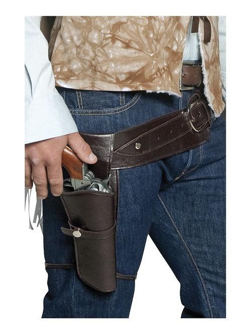 Authentic Western Wandering Gunman Belt & Holster SKU 33097