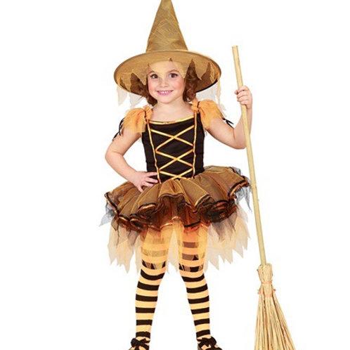"""BALLERINA WITCH"""" (tutu dress, hat). 28449 Widmann"""