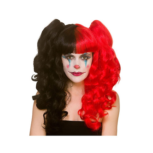 Harlequin Bunches Cosplay Wig EW-8415 W