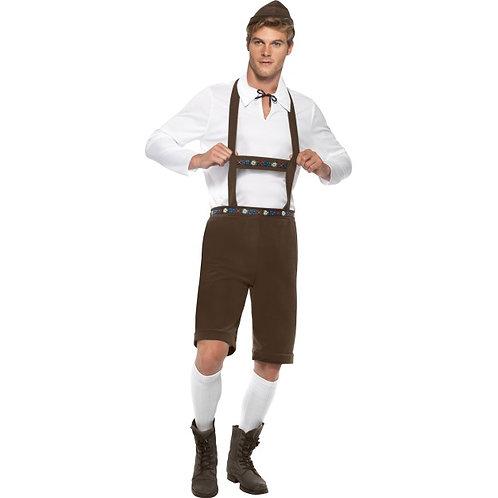 Bavarian Man Costume, Brown. 30286 S