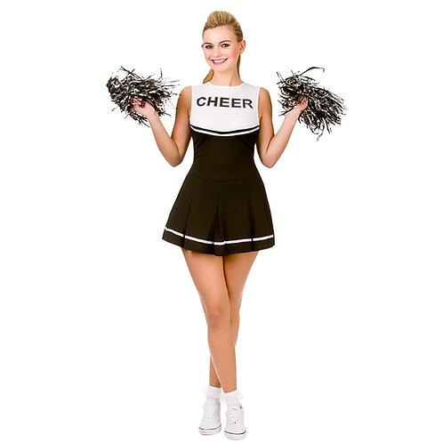 High School Cheerleader - Black. EF-2183 Wicked