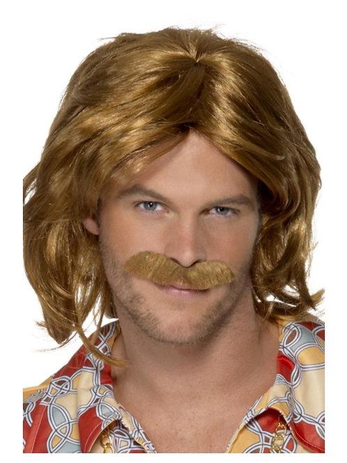 70s Super Trouper Wig & Moustache 42005 S