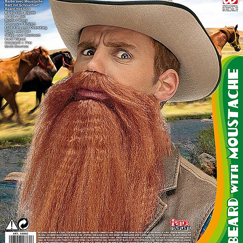 Beard With Moustache. 1686C W