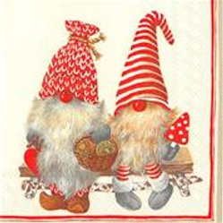 Friendly Tomte Red Lunch,