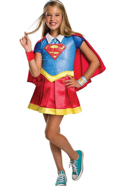 SUPERGIRL DCSHG DELUXE – CHILDRENS. 620714 RUBIES