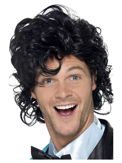 80s Prom King Perm Wig. 43690 S