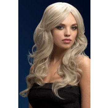 Fever Nicole Wig, Silver Blonde 43534 S