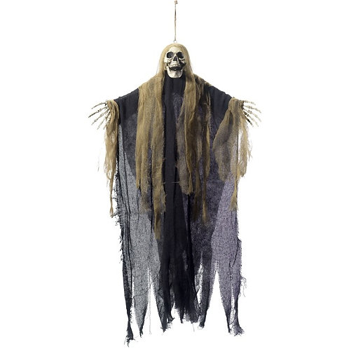 Hanging Scary Skeleton Decoration SKU: 48221