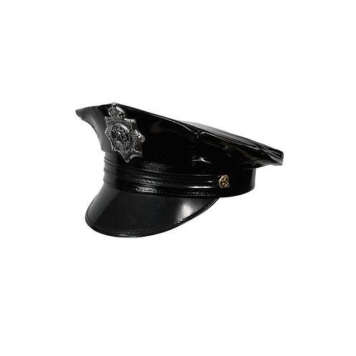 Deluxe Cop Hat AC-9137 W