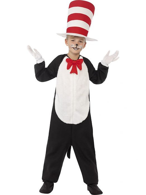 Cat in The Hat Costume, Child SKU 27538