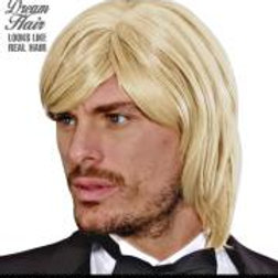 """BLOND BJORN DREAM HAIR WIG"" in color box W K9226"