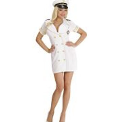 """NAVY CAPTAIN LADY"" (dress, hat) 77481 W"