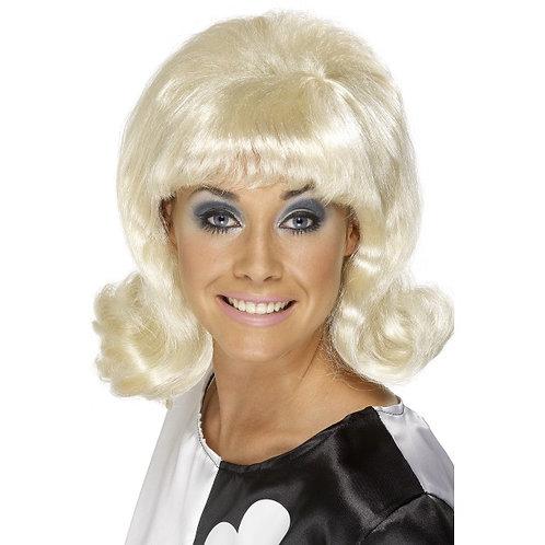 60'S Flick-Up Wig,Blonde