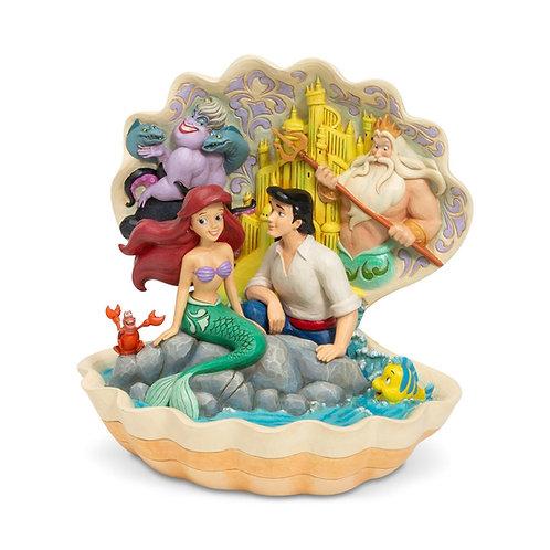 Ariel Shell Figurine