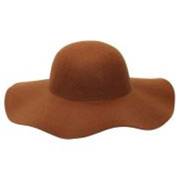 "Felt ""BROWN WOMAN HAT"" suitable for custom... W 68581"