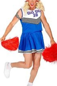 """CHEERLEADER"" (top, skirt) 00174 W"