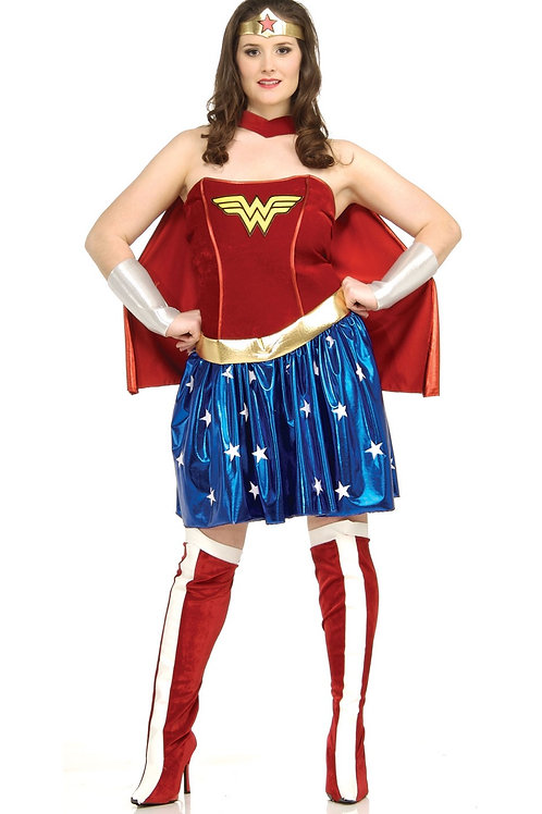 WONDER WOMAN COSTUME PLUS SIZE – WOMENS. 17440 RUBIES