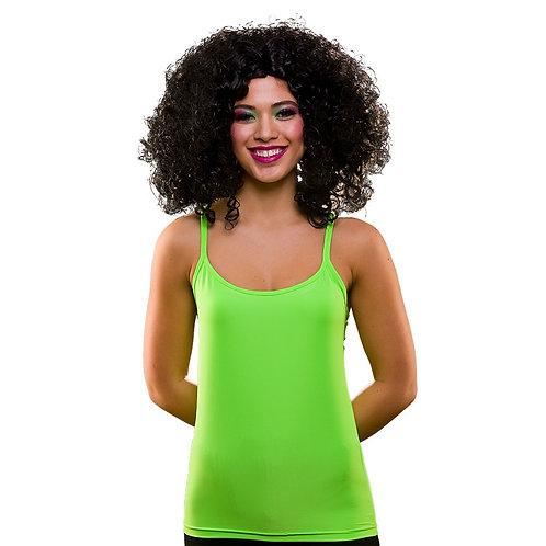 80's Neon Vest Top - GREEN. EF-2255-G Wicked