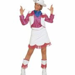 """""""COWGIRL"""" (shirt, vest, skirt, boot covers... W 39762"""